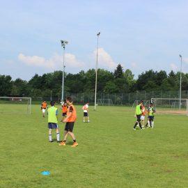 Sommerpause vorbei: Die Aktiven trainieren wieder!