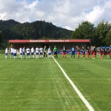 Sportrapport: SV Kirchzarten II – BWW I  1:4 (0:1)