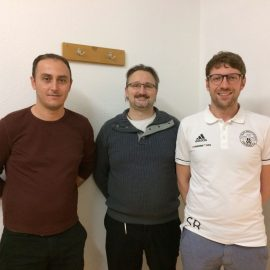 Neue sportliche Leitung bei den aktiven Fußballern zum neuen Jahr